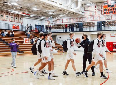 Lakeville South vs Lakeville North Basketball -1