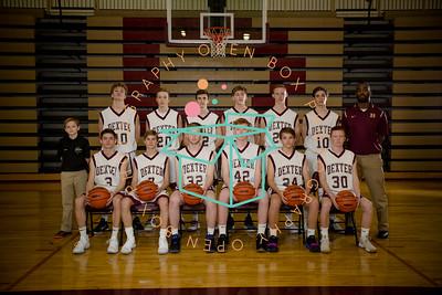 DHS Boys JV  Basketball 2017