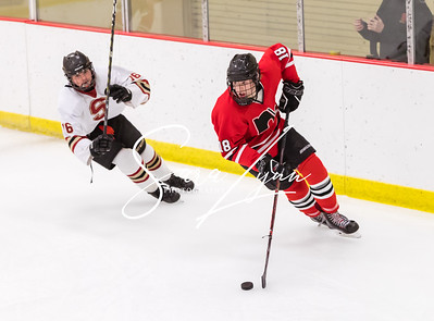 Lakeville South vs Lakeville North Bantam AA -5