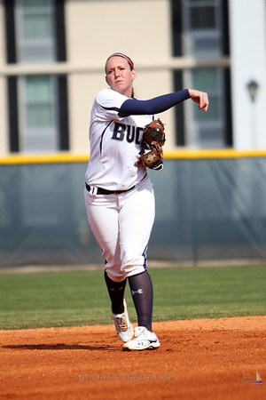 CSU Softball shutout Furman, 8-0 in the first game of a double-header. February 14, 2012.