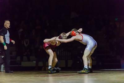 Lakeville S vs Lakeville N Wrestling-16