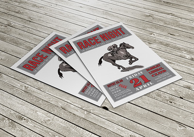 Race Night flyer