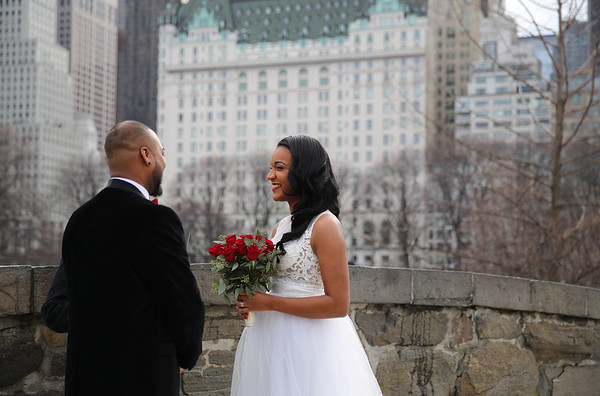 Stephany & Rakesh - Winter Elopement in Central Park (5)
