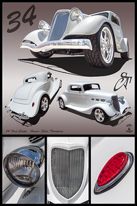 Steve Thompson's 1934 Ford coupe