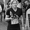 Marathon runner in Oakville