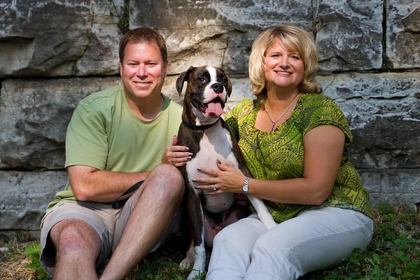 Sue, Greg & Austin - September 27, 2008