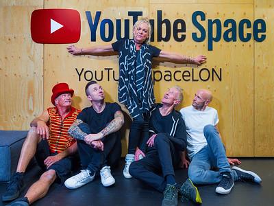 Sunscreem Production @ Youtube Studios, London