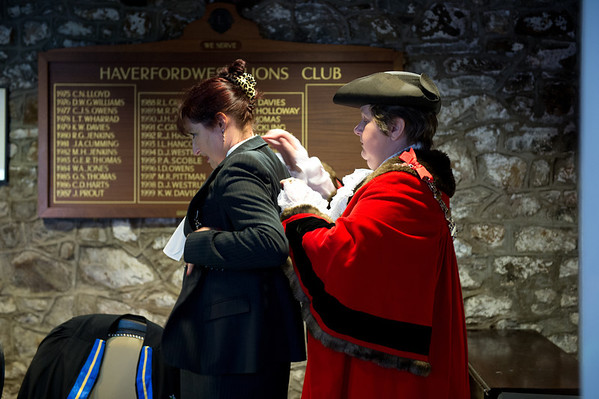 Haverfordwest Town Council - Mayor Making 2012
