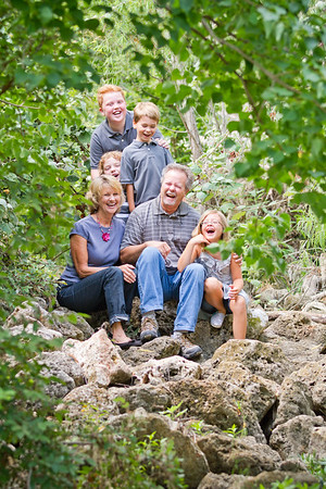 Allen Family - July 2012