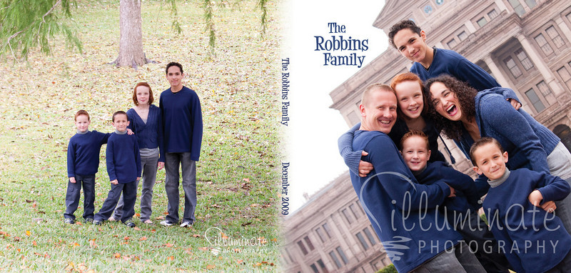 Robbins Family 7x7 Album00 Cover