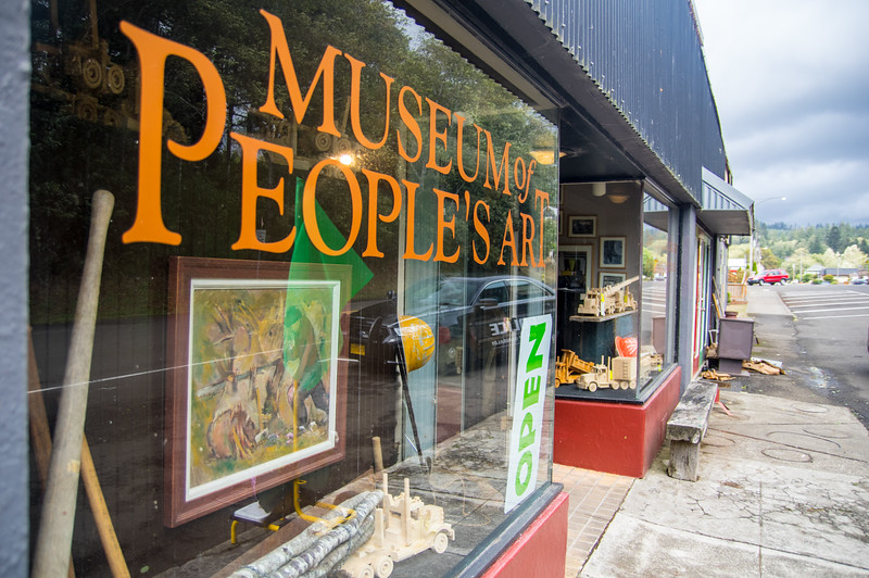 Museum of People's Art in Bay City, Oregon.