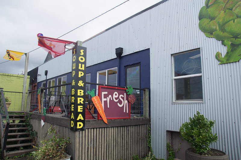 Fresh Cafe in Bay City, Oregon.