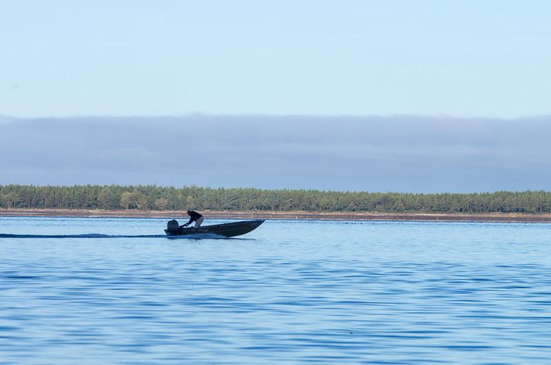 Boat in Miami Cove, near Garibaldi, Oregon.