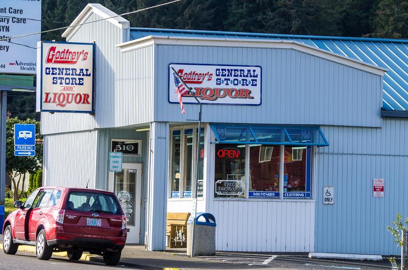 Godfrey's General Store in Garibaldi, Oregon.