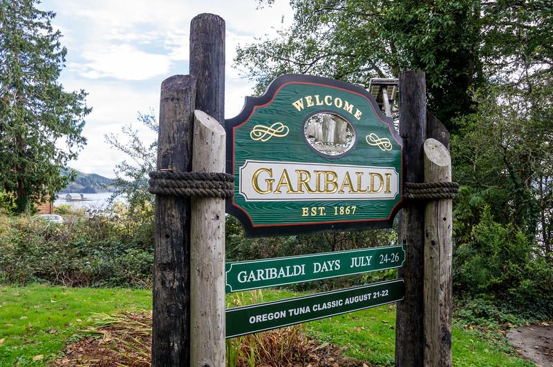 Welcome to Garibaldi! Garibaldi, Oregon.