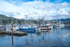 The Garibaldi Marina in Garibaldi, Oregon.