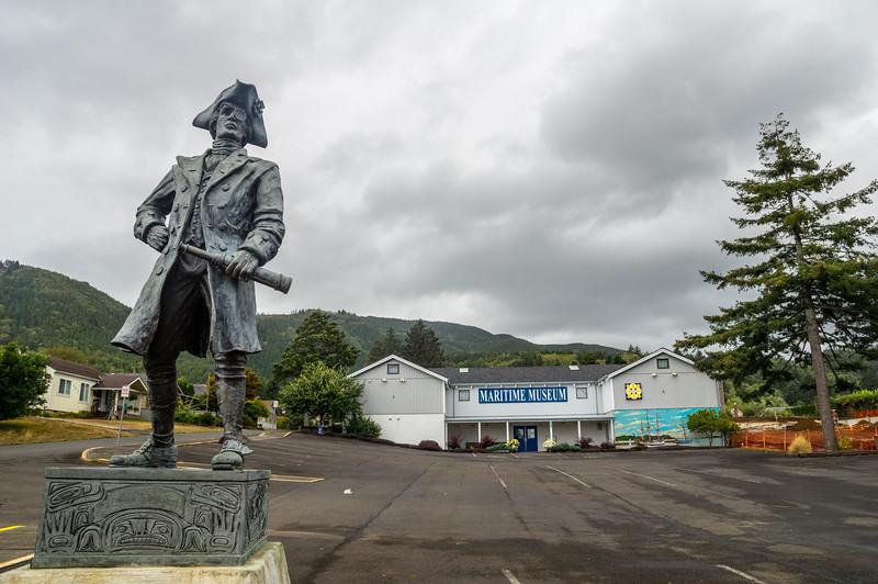 Garibaldi Maritime Museum in Garibaldi, Oregon.