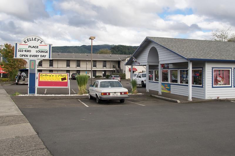 Kelly's Place Restaurant in Garibaldi, Oregon.