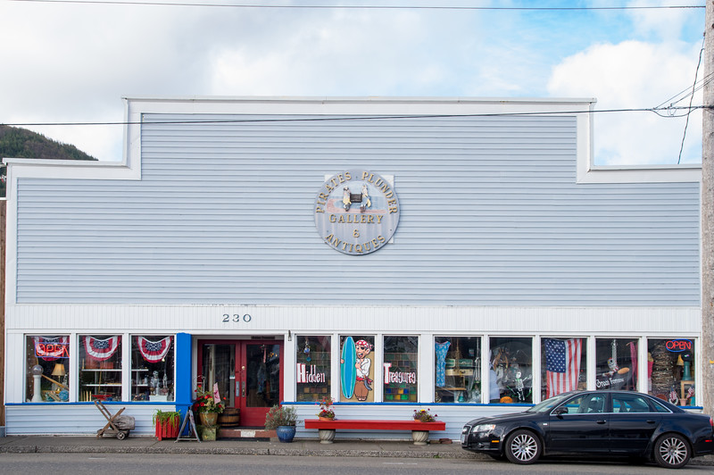 In Garibaldi, Oregon.