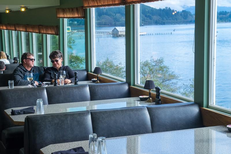 Pirate's Cove Restaurant in Garibaldi, Oregon.