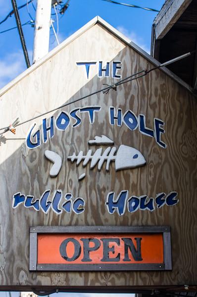 The Ghost Hole in Garibaldi, Oregon.