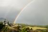 Rainbow over the Driving Range in Manzanita, Oregon.