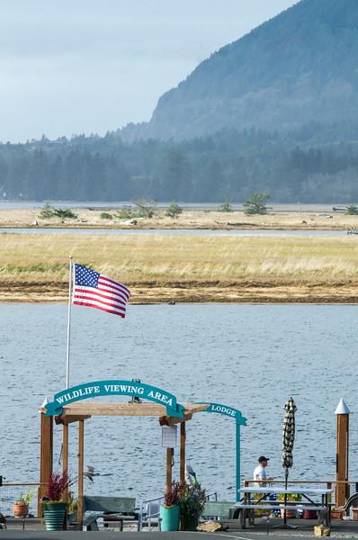 Wildlife Viewing area, Wheeler, Oregon