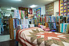 Inside Creative Fabrics, downtown Wheeler, Oregon