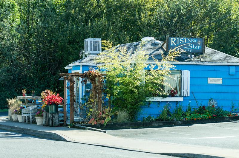 Rising Star Cafe, in Wheeler, Oregon