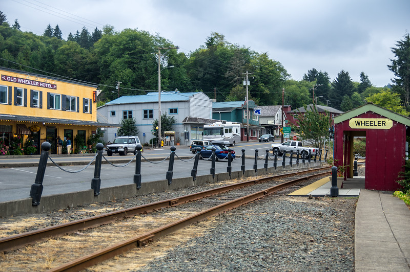 Downtown Wheeler, Oregon