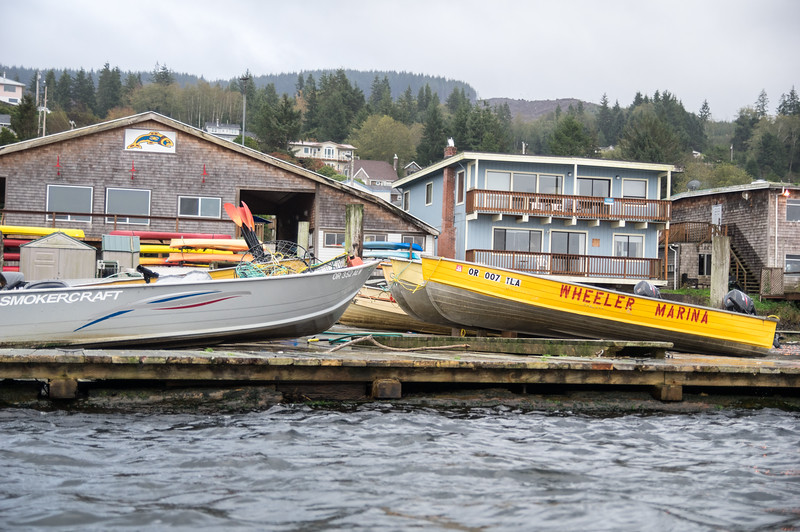 Wheeler Marina in Wheeler, Oregon