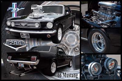 Tomas Bert's Black 1966 Mustang