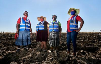 From left to right: Mechildis Musa, Joyce Zandile, Promise Thembi, Maria Nokhuthula