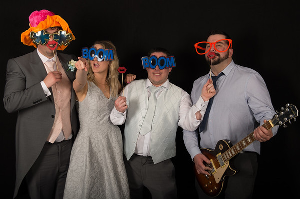 Rhodri and Sarah - The Photo Booth