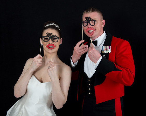 Sam and G - The Photo Booth Images