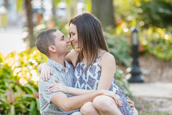 Kayla and Justin Engagment