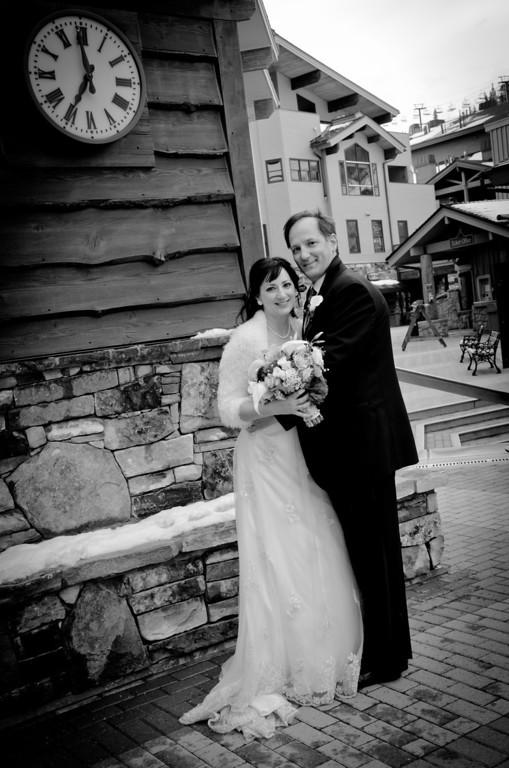 Cindy and Dan's Utah Ski Wedding