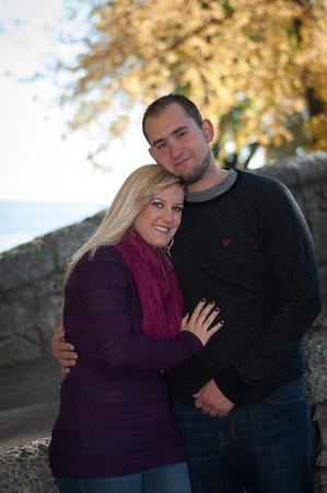 Courtney and Adam
