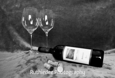 Bottle and corks