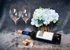 Wine and Hydrangeas~