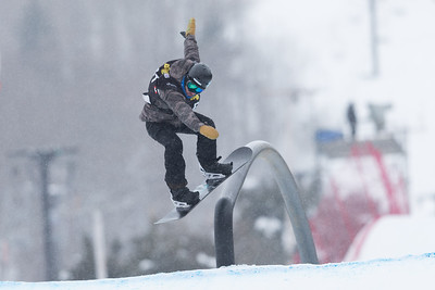 FIS World Cup 2017: Freestyle Snowboard Slopestyle  FEB 11