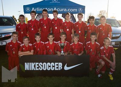 Boys U14 Cup 2nd