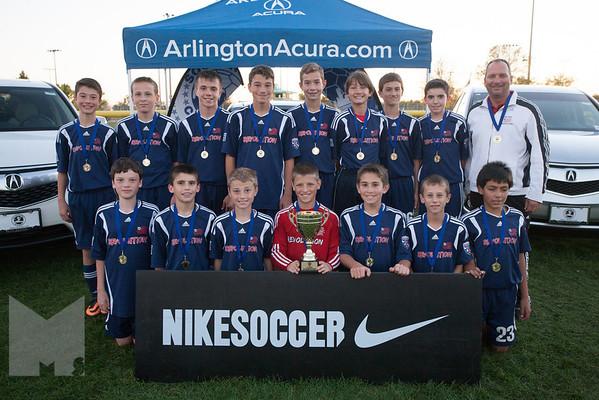 Boys U13 Cup 1st