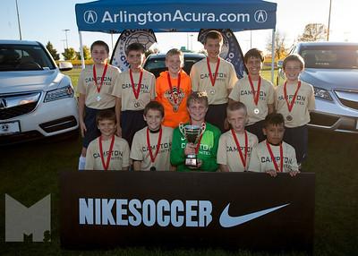 Boys U11 Cup 2nd