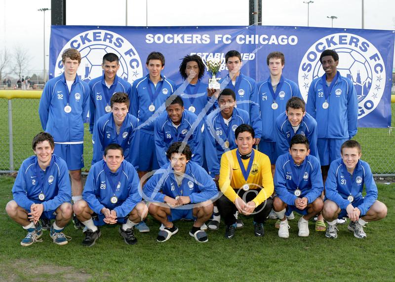 U17 Boys Classic 1st