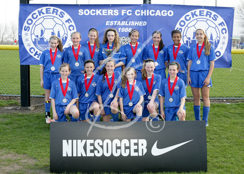U13 Girls Cup 2nd