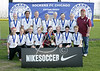 U13 Girls Cup 1st