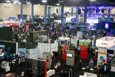 2015 eMERGE Americas Expo floor.