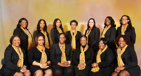 Theta Rho Sigma Chapter of Sigma Gamma Rho Sorority, Incorporated Portraits