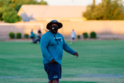 HHS Football Practice